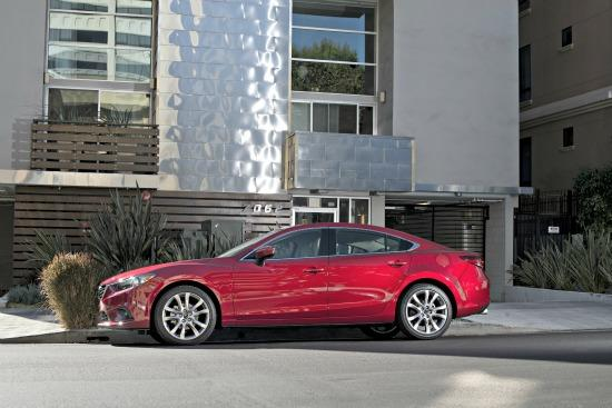 Mazda is now a major sedan player with the newly designed Mazda6