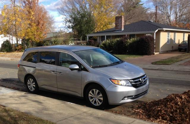 The 2016 Honda Odyssey has a new moderately priced Special Edition trim. Images © James Raia/2015