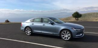 The 2017 Volvo S90 is the Swedish carmaker's new luxury sedan.