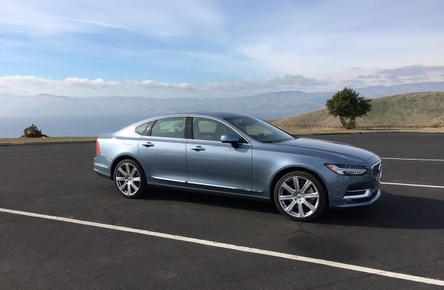 The 2017 Volvo S90 is the Swedish carmaker's new luxury sedan.