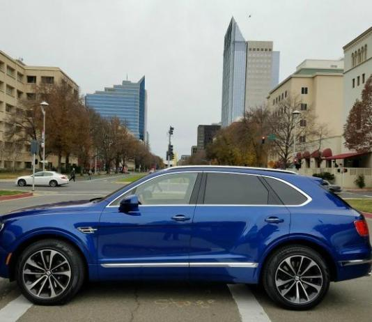 The 2017 Bentley Bentayga has 600 horsepower and 0-60 mph acceleration in 4.0 seconds.