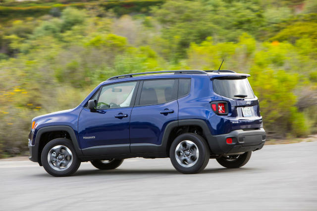 The 2017 Jeep Renegade is available in multiple trim levels.
