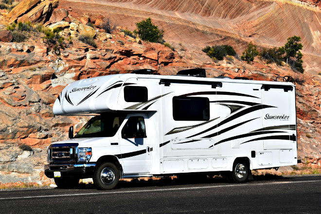 RV travel is increasingly popular. Images © Bruce Aldrich.