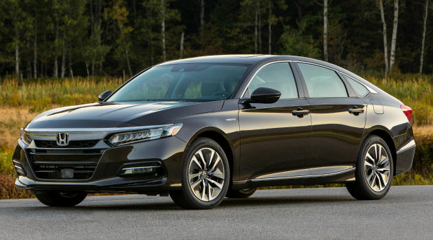The 2018 Honda Acord has been named best midsize car and best overall car by Kelley Blue Book.