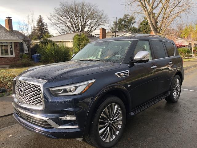The 2018 Infiniti QX80 has several interior and exterior updates for 2017.