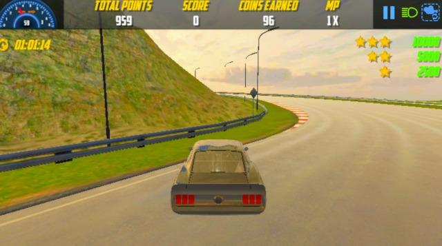 Burnout Drift is an online driving game that doesn't involve driving.