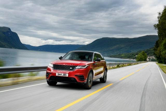 The 2018 Range Rover Velar has as odd name for a car so vivid.
