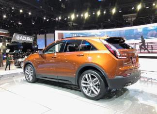 Cadillac showcased its new SUV, the XT4 at LA Auto Show