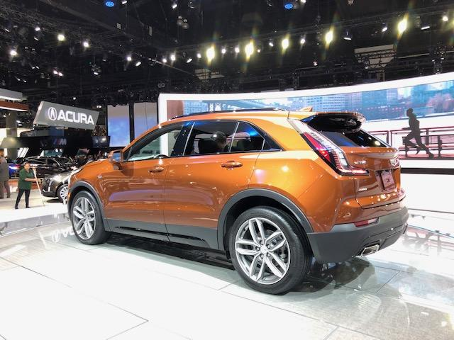 Cadillac showcased its new SUV, the XT4 at LA Auto Show
