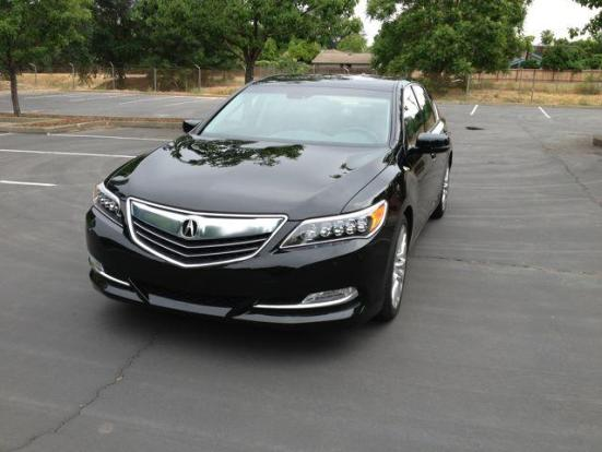 Acura 's new flagship seda, the 2014 RLX