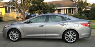 2013 Hyundai Azera: Elegant exterior styling.