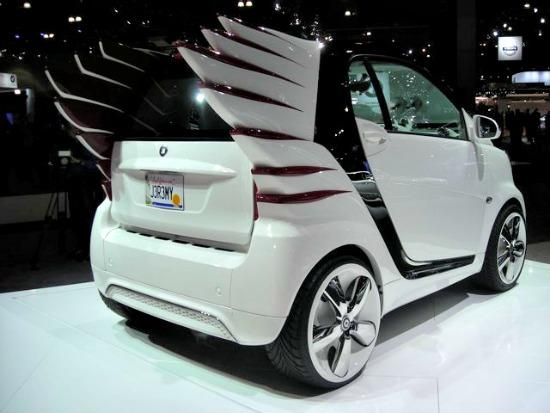 One of the wacky concept cars from the 2012 LA Auto Show.