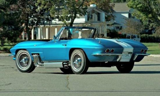 A rare Corvette Sting Ray will be auctioned in Chicago.