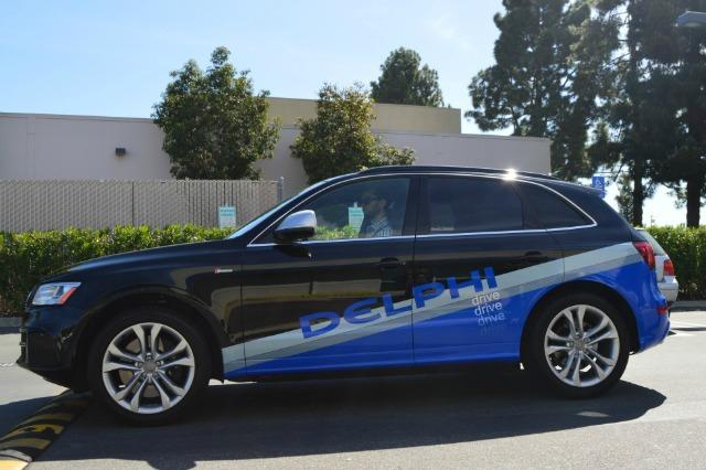 An autonomous Audi is en route from San Francisco to New York.