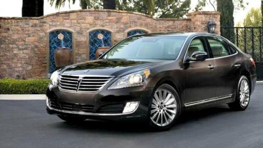 The 2014 Hyundai Equus: The top-line sedan has been upgraded.
