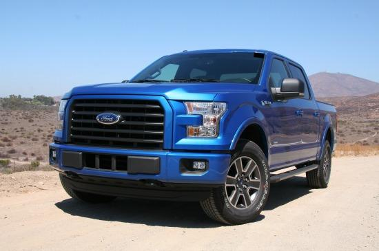 About 37,000 Ford F-150 from 2105 have been recalled.