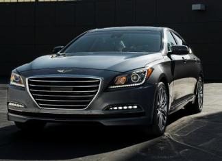 The 2015 Hyundai Genesis has been redesigned inside and out.