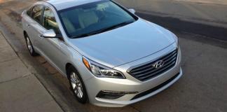 The 2015 Hyundai Sonata Eco has a seven-speed automatic transmission.