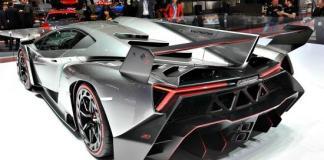 The Lamborghini Veneno was featured on 60 Minutes.