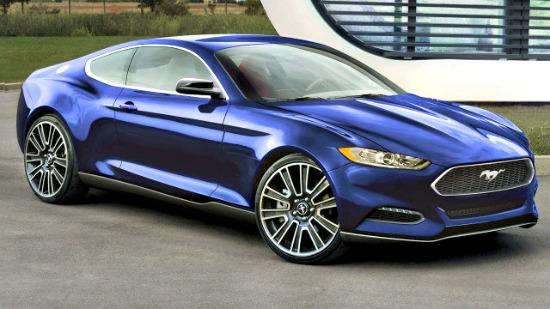 The 2015 Ford Mustang has new look and many new features.