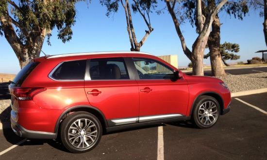 The 2016 Mitsubishi Outlander has been updated inside and outside.