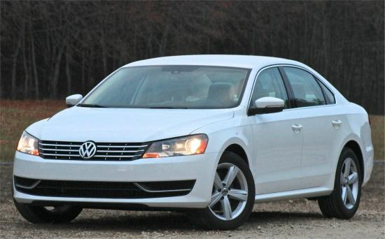 The 2014 Volkswagen Passat is sturdy and versatile.