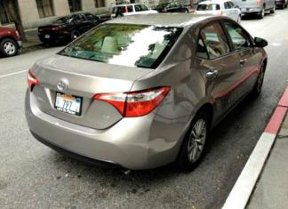 The 2014 Toyota Corolla has been redesigned.
