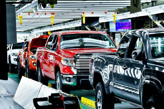 Toyota makes trucks cleanly, quietly, quickly in Texas