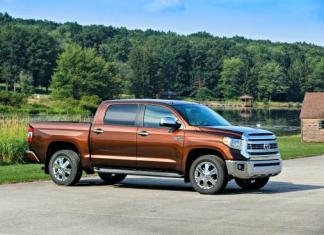 The 2014 Toyota Tundra has been redesigned.