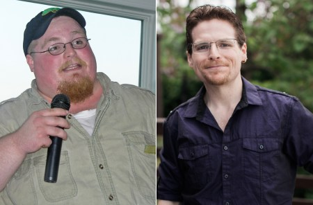 Chuck Carroll before and after weight loss