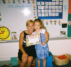 Me and Ms. Driscol Kindergarten