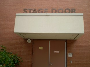 The Stage Door - A place of welcome.