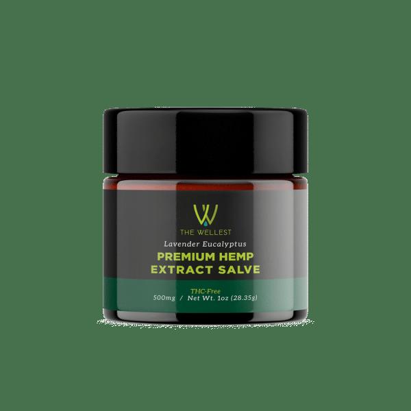 Premium CBD Hemp Salve Lavender Eucalyptus Extract 500 mg
