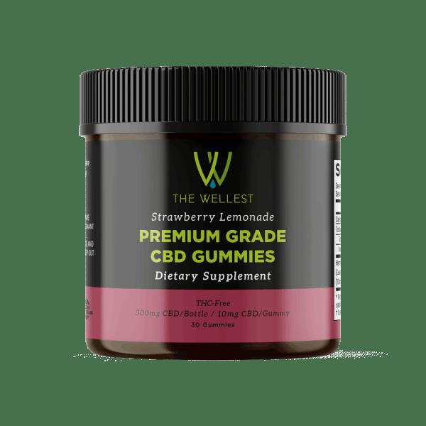 Premium CBD Gummies Strawberry Lemonade 300mg