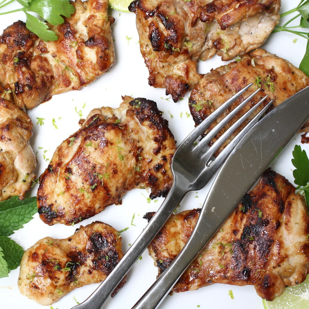 Easy Lime and Garlic Chicken