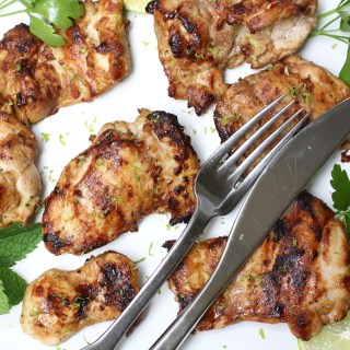 Easy Garlic and Lime Chicken Thighs