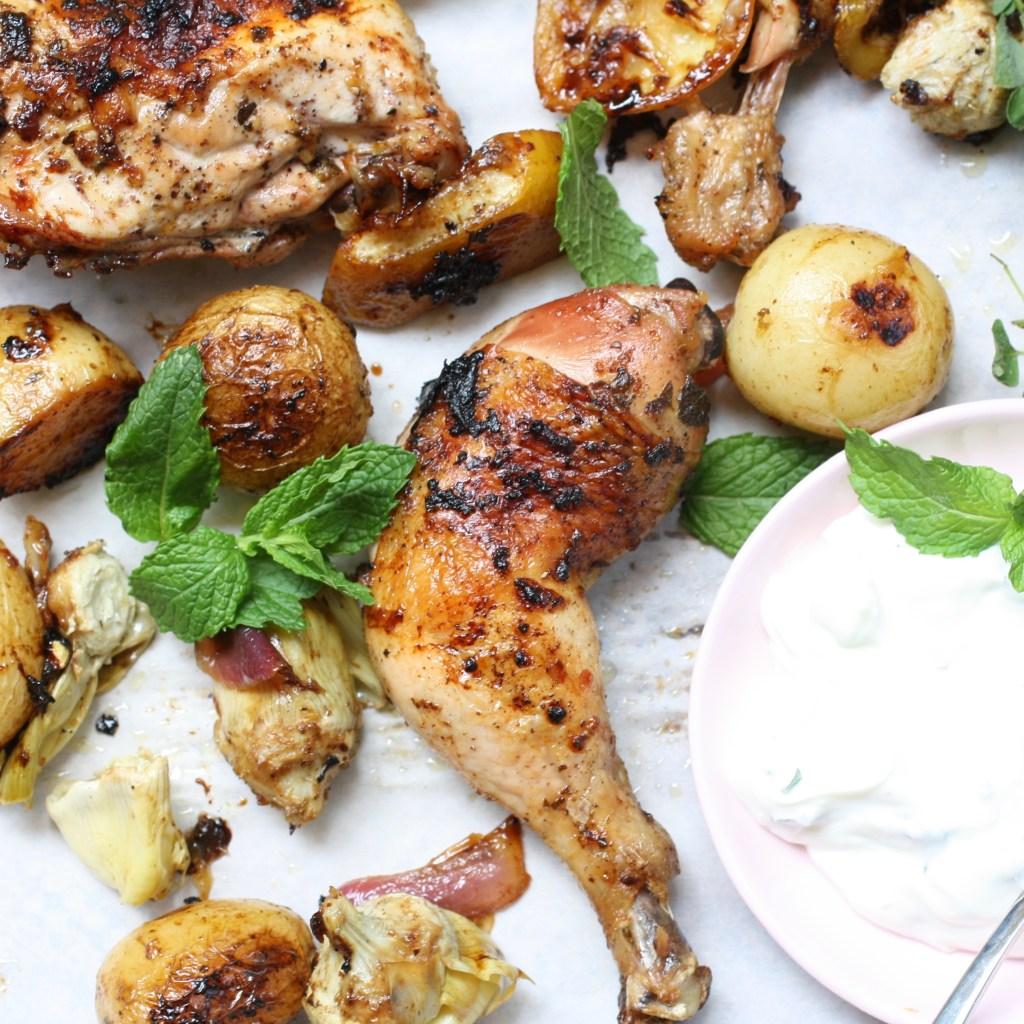 Greek Roast Chicken