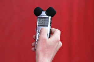 fear of writing for web voice recorder