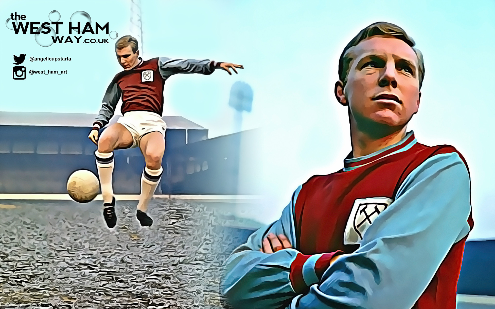 Bobby Moore Wallpaper The West Ham Way