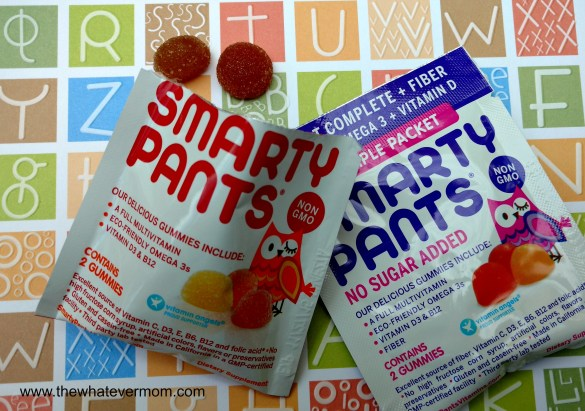 Smarty Pants Vitamin Samples