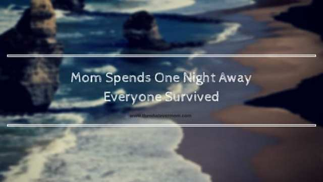 Mom Spends One Night Away Everyone Survived