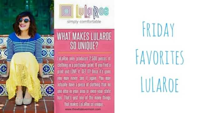Friday FavoritesLuLaRoe