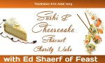 """Sushi"" & Cheesecake Shavuot Make"