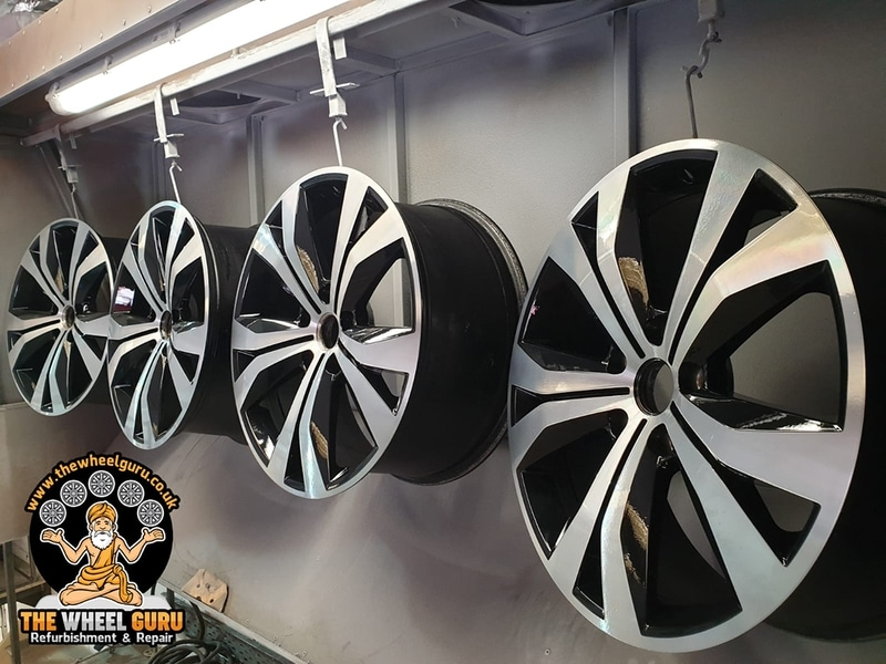 Diamond Cutting Alloy Wheels