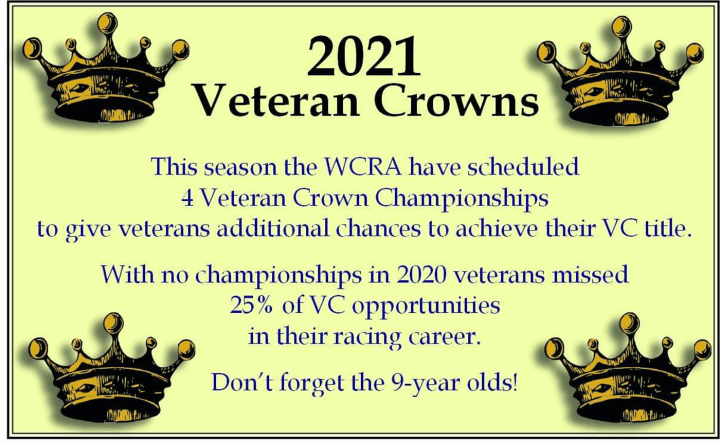 Four Veteran Crowns For 2021