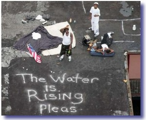 hurricane katrina victims1 300x247 How A Real President Responds To Crisis
