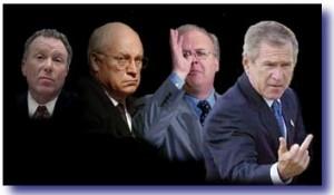 bush cheney regime 300x175 Have Progressives Lost Their Damn Minds?