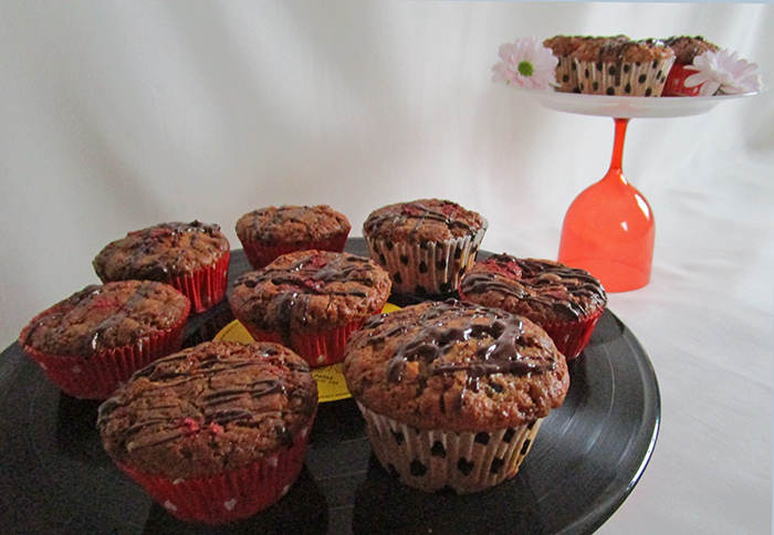 Schoko- Cranberry-Muffins