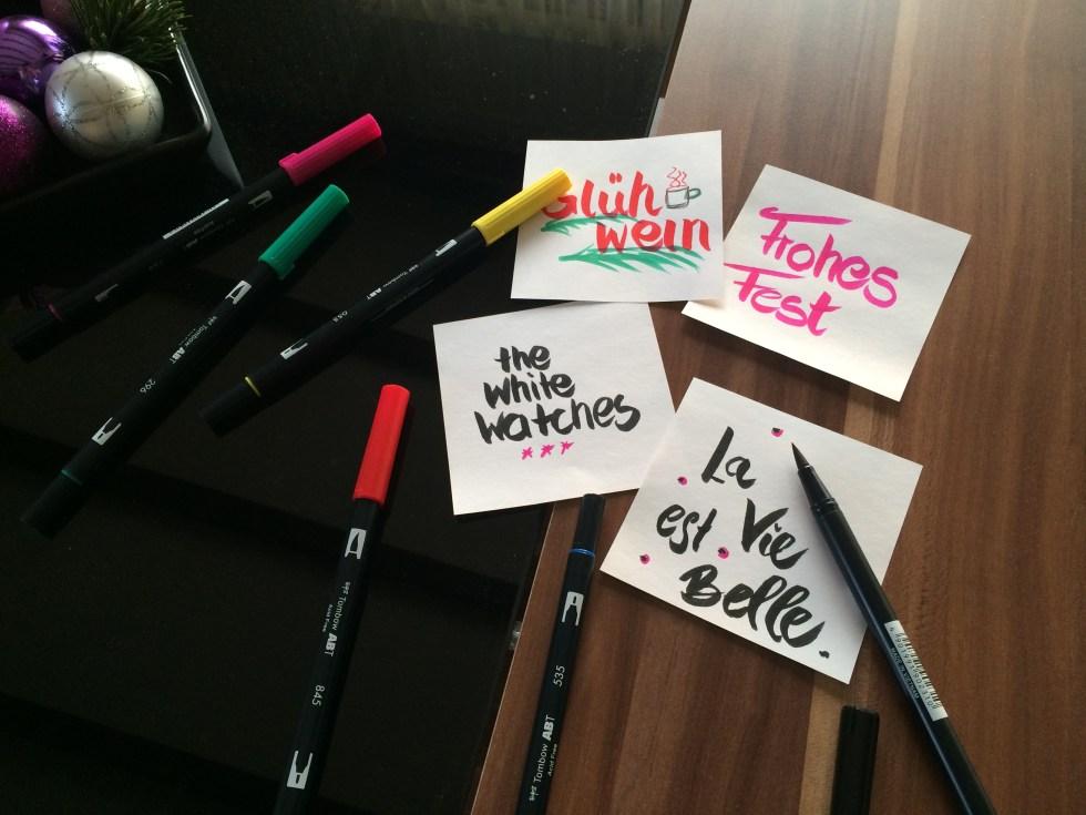 Mit diesen Stiften bekommst auch du eine tolle Handschrift! |Mi-Mini