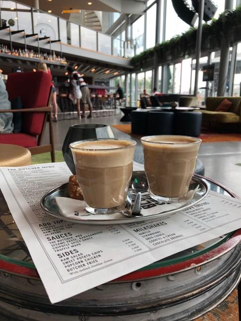 Kaffee bei Butchers